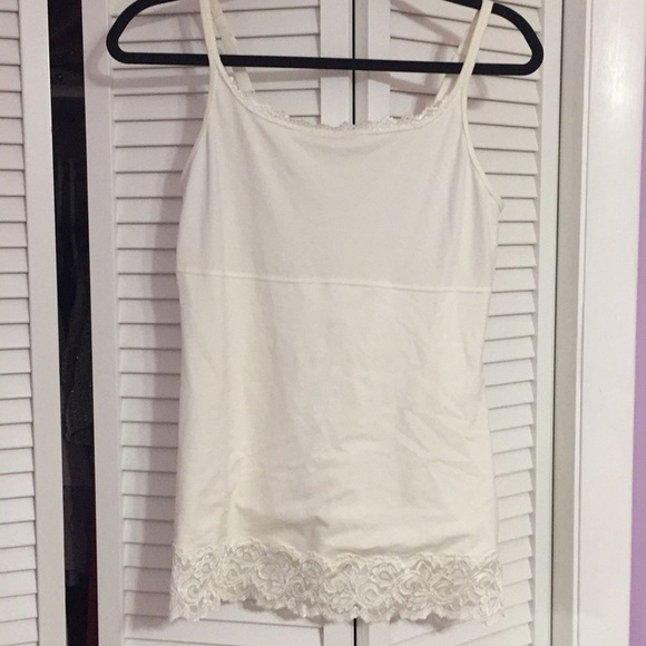 Tops - Lace and rayon cami